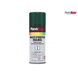PlastiKote Multi Purpose Enamel Spray Paint Gloss Green 400ml