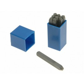 Priory 180- 3.0mm Set of Number Punches 1/8in