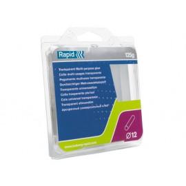 Rapid Transparent Glue Sticks 12 x 94mm Pack of 13