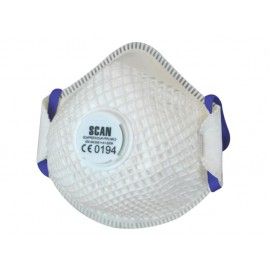 Scan Moulded Duranet Disposable Mask FFP2 (Pack of 2)