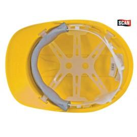 Scan Safety Helmet Yellow