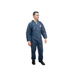 Scan Disposable Overall Blue XXL (45-49in)