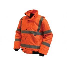 Scan Hi-Vis Bomber Jacket Orange - L (44in)