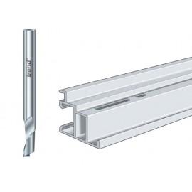 Trend 50/05 x 1/4 HSSE Helical Plunge Bit 5mm
