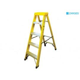Zarges Fibreglass Swingback Steps Open 1.33m Closed 1.47m 5 Rungs