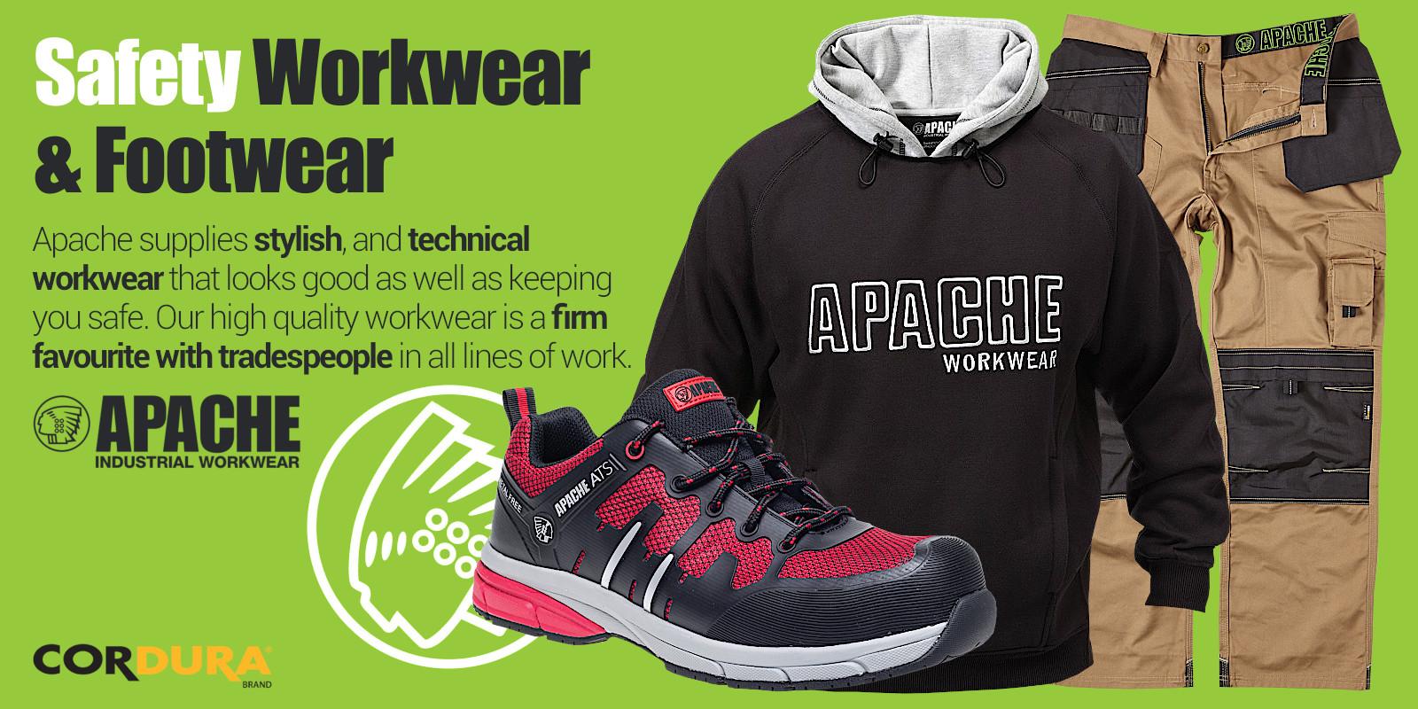 Apache Industrial Safety Footwear