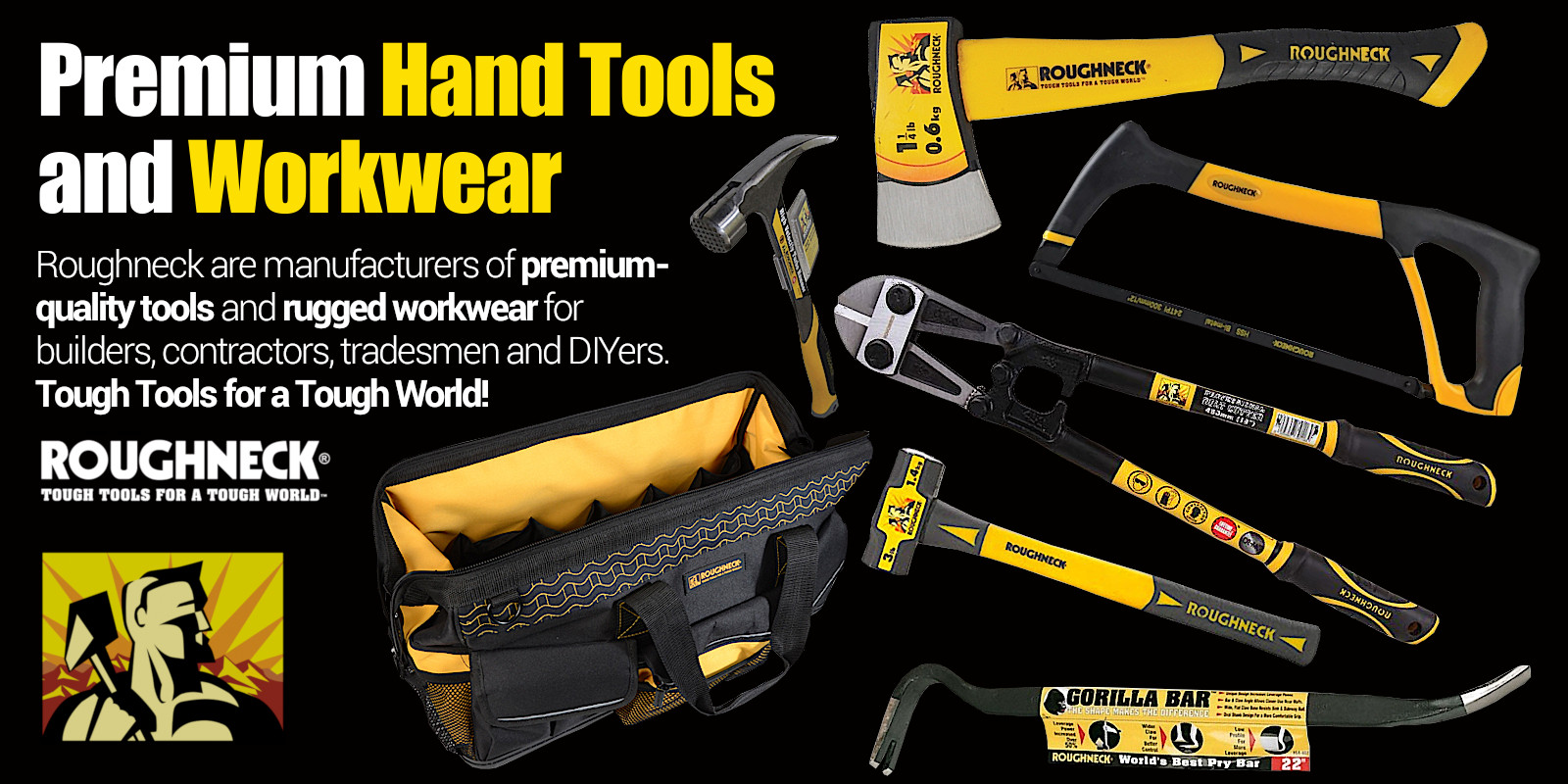 Roughneck Hand Tools and Workwear