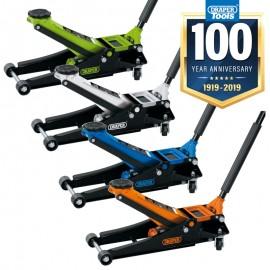 Draper 2082 02082 Low Entry Trolley Jack 2 Tonne