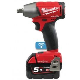 Milwaukee M18 ONEIWF12-502X Fuel™ ONE-KEY™ 1/2in FR Impact Wrench 18V 2 x 5.0Ah