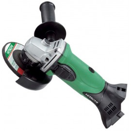 Hitachi KC18DGL Combi Drill and Impact Driver + 4½ Inch Angle Grinder + 2 x 5.0Ah Batteries + FREE Torch