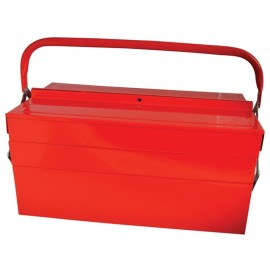 Faithfull Metal Cantilever Toolbox - 5 Tray 49cm (19in)
