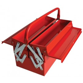 Faithfull Metal Cantilever Toolbox - 5 Tray 40cm (16in)