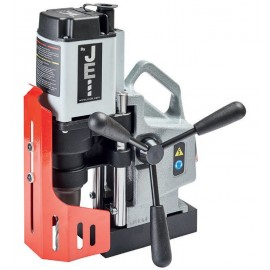 JEI Minibeast 35mm Magnetic Drilling Machine with Case, 5 Piece Cutters Set and 500ml Turbo Spray