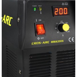 Cros Arc 200A MMA Inverter DC Welder (200S) with MMA Leads