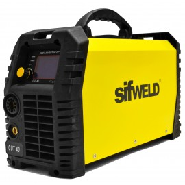 Sifweld Cut40 Digital Plasma Cutter with Genuine 4 Meter Trafimet Cutting Torch