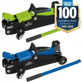 Draper Trolley Jack (2 Tonne) - Green or Blue