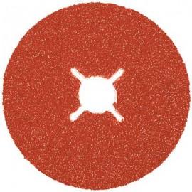 Fibre Sanding Disc - Ceramic Oxide 115mm Grit 36
