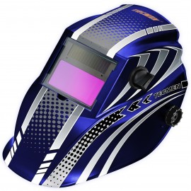 Tecmen Auto Darkening Head Shield Welding And Grinding Blue TM8
